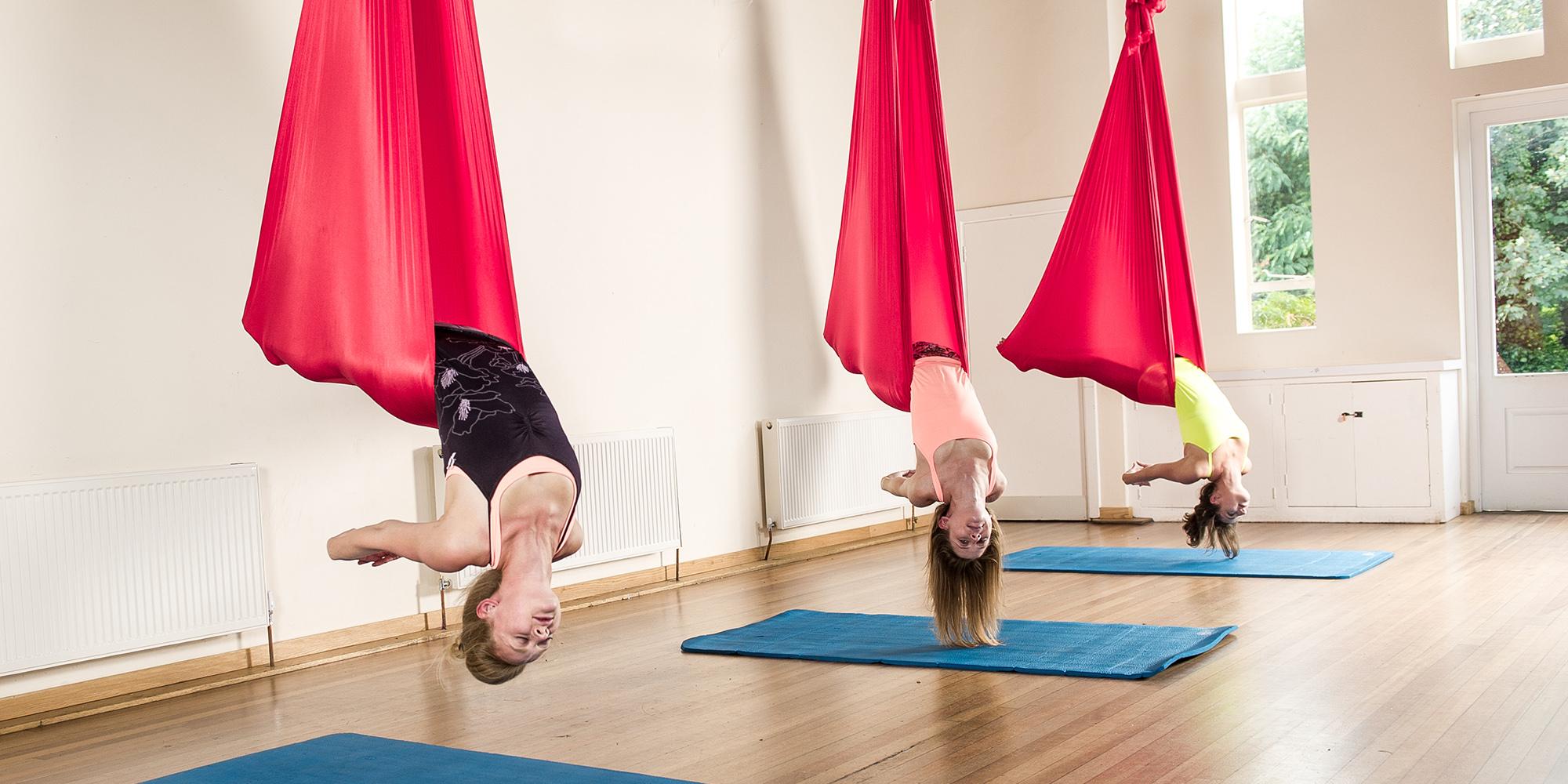 Anti gravity yoga london