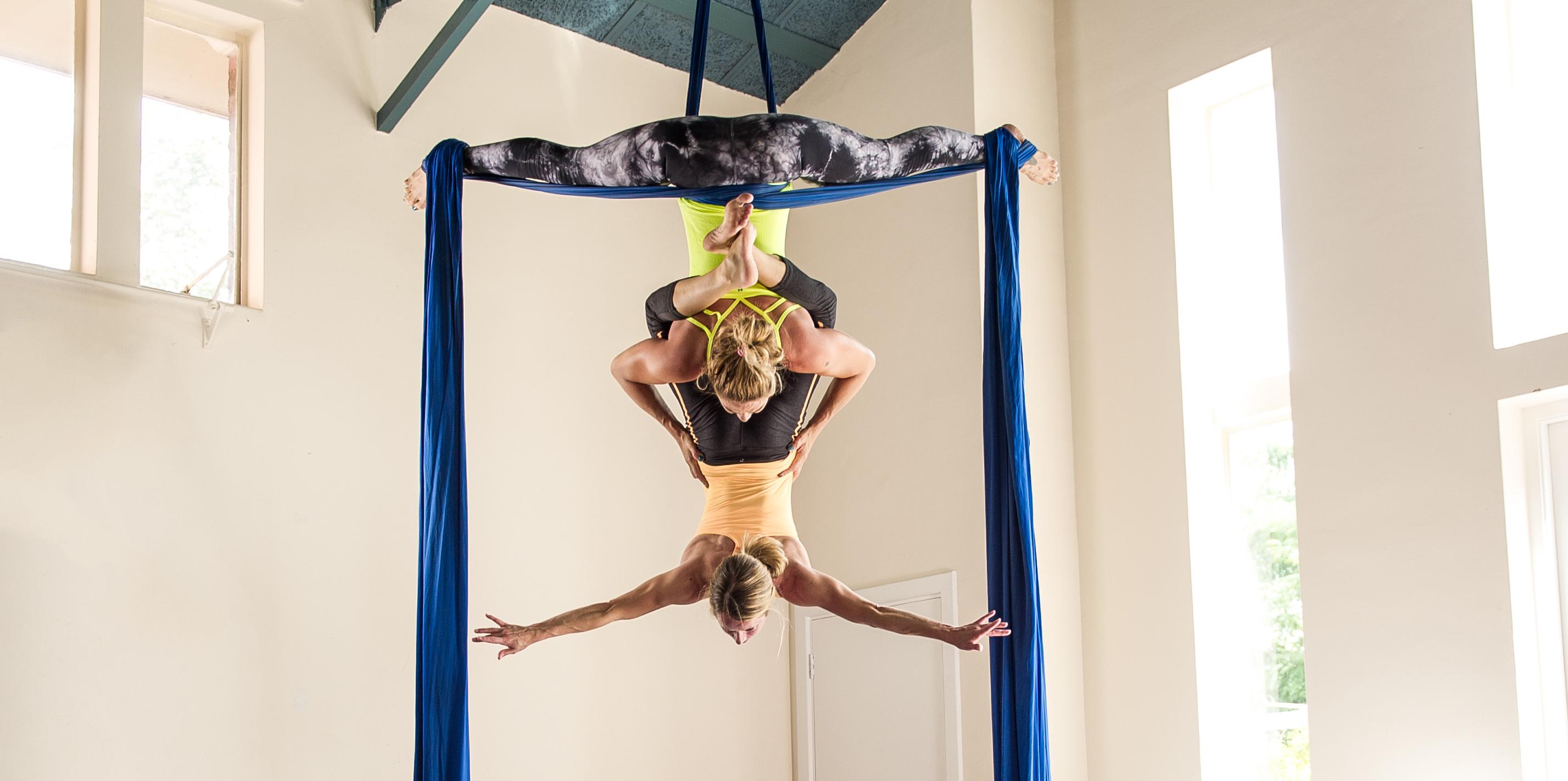 Aerial Silks Classes London Flying Fantastic